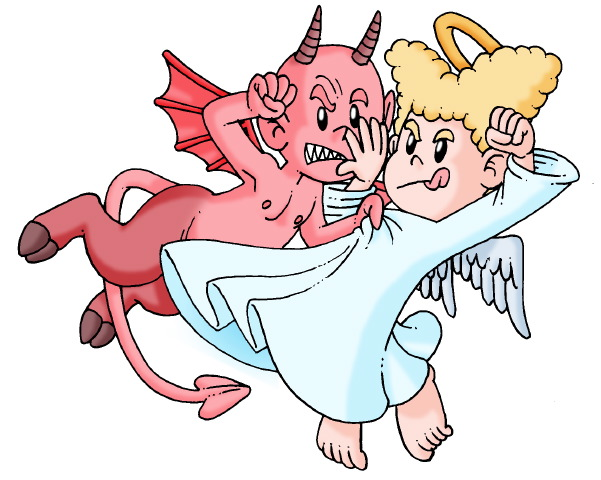 Angel+vs+Devil